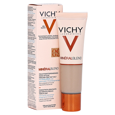 Vichy Mineralblend Make-up Fluid Nr. 09 Agate 30 Milliliter