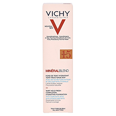 Vichy Mineralblend Make-up Fluid Nr. 15 Terra 30 Milliliter - Rückseite