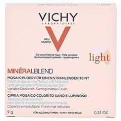 Vichy Mineralblend Mosaik-Puder Light 9 Gramm - Vorderseite