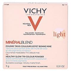 Vichy Mineralblend Mosaik-Puder Light 9 Gramm - Rückseite