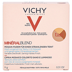 Vichy Mineralblend Mosaik-Puder Tan 9 Gramm - Vorderseite