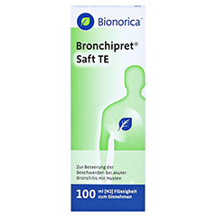 Bronchipret Saft TE 100 Milliliter N2 - Vorderseite