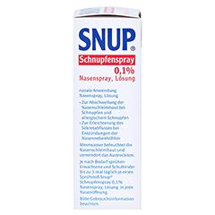 Snup Schnupfenspray 0,1% 10 Milliliter N1 - Linke Seite