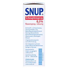 Snup Schnupfenspray 0,1% 10 Milliliter N1 - Rechte Seite