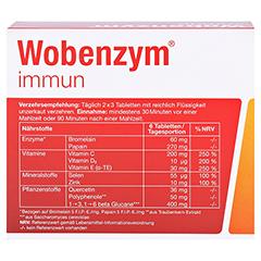 Wobenzym Immun 120 Stück - Rückseite