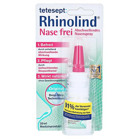 TETESEPT Rhinolind Abschwellendes Nasenspray 20 Milliliter