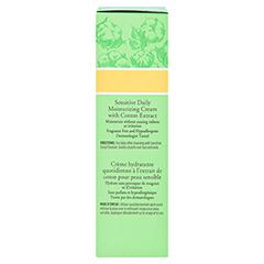 BURT'S BEES Sensitive Daily Moisturizing Cream 50 Gramm - Linke Seite