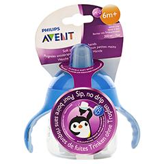 AVENT Sip No Drip Becher 200 ml blau 1 Stück - Vorderseite