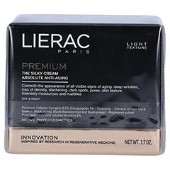 LIERAC Premium seidige Creme 50 Milliliter - Vorderseite