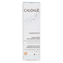 CAUDALIE Vinoperfect getöntes Fluid light LSF 20 40 Milliliter - Vorderseite