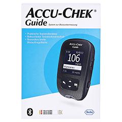 ACCU-CHEK Guide Set mg/dL 1 Stück - Vorderseite