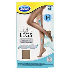 SCHOLL Light LEGS Strumpfhose 20den M nude 1 Stück - Vorderseite
