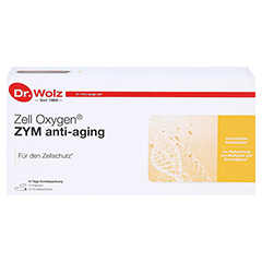 ZELL OXYGEN ZYM Anti Aging 14 Tage Kombipackung 1 Packung - Vorderseite
