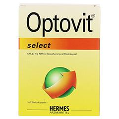 OPTOVIT select 1.000 I.E. Kapseln 100 Stück - Vorderseite