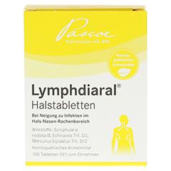 LYMPHDIARAL HALSTABLETTEN 100 Stück N1 - Vorderseite