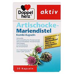 Doppelherz aktiv Artischocke-Mariendistel 30 Stück - Vorderseite
