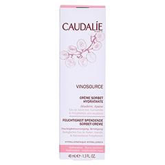 CAUDALIE Vinosource creme Sorbet hydratante 40 Milliliter - Vorderseite
