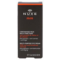 NUXE Men Contour des Yeux Multi-Fonctions Augengel 15 Milliliter - Vorderseite