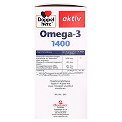 DOPPELHERZ Omega-3 1.400 Kapseln 120 Stück - Linke Seite
