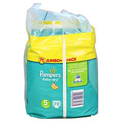 PAMPERS Baby Dry Gr.5 junior 11-23kg Jumbo plus P. 72 Stück - Linke Seite
