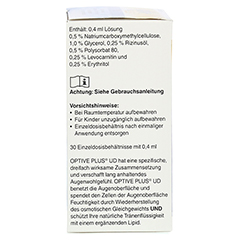 OPTIVE PLUS UD Augentropfen 30x0.4 Milliliter - Rechte Seite