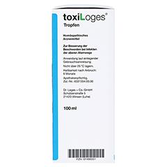 TOXI LOGES Tropfen 100 Milliliter N2 - Rechte Seite