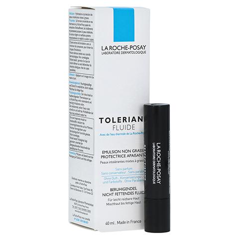 ROCHE POSAY Toleriane Fluid Feuchtigkeitspflege + gratis La Roche Posay Mascara 40 Milliliter
