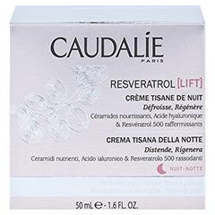 CAUDALIE Resveratrol Lift Kräuter-Nachtcreme 50 Milliliter - Rückseite