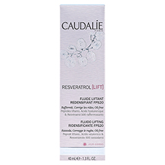 CAUDALIE Resveratrol Lift Lifting Fluid LSF 20 40 Milliliter - Rückseite