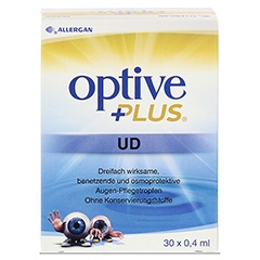 OPTIVE PLUS UD Augentropfen 30x0.4 Milliliter - Rückseite