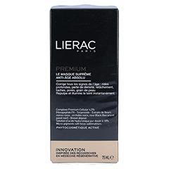 LIERAC Premium ultimative Maske 75 Milliliter - Rückseite