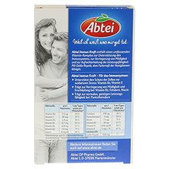 ABTEI Immun Kraft Vitamin-Vital-Komplex Ampullen 6 Stück - Rückseite