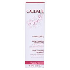 CAUDALIE Vinosource creme fondante nourrissante 40 Milliliter - Rückseite