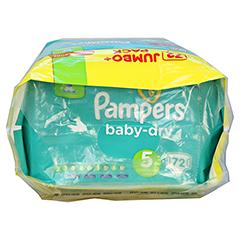 PAMPERS Baby Dry Gr.5 junior 11-23kg Jumbo plus P. 72 Stück - Oberseite