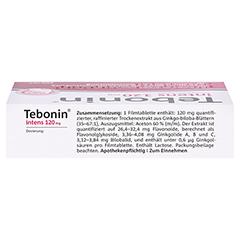 Tebonin intens 120mg 60 Stück N2 - Oberseite
