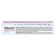 Tebonin konzent 240mg 30 Stück N1 - Oberseite