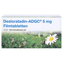 Desloratadin-ADGC 5mg 100 Stück N3 - Vorderseite