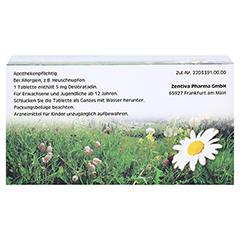 Desloratadin-ADGC 5mg 100 Stück N3 - Rückseite