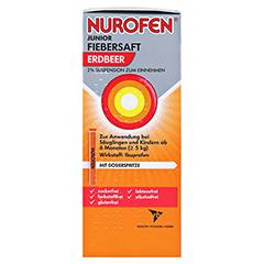 Nurofen Junior Fiebersaft Erdbeer 2% 100 Milliliter N1 - Rechte Seite
