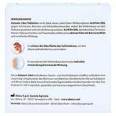GOLAMIR 2Act Lutschtabletten 30 Gramm - Rückseite