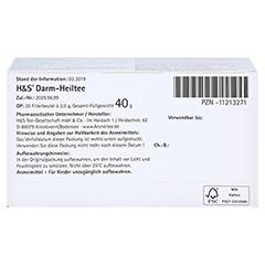 H&S Darm-Heiltee Filterbeutel 20x2.0 Gramm - Unterseite