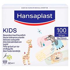 HANSAPLAST Kids Pflasterstrips Univeral 100 Stück - Vorderseite