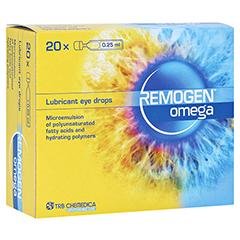 REMOGEN Omega Augentropfen 20x0.25 Milliliter
