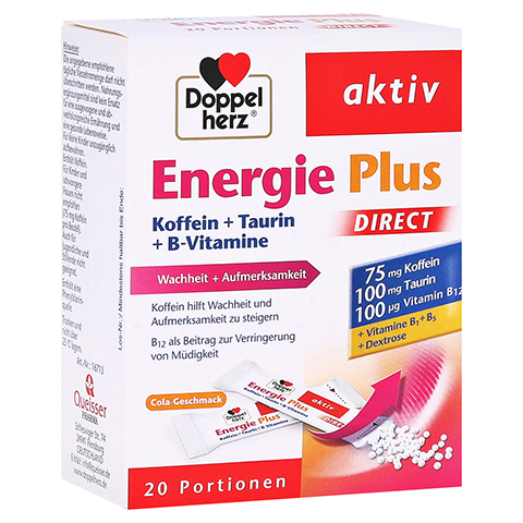 DOPPELHERZ Energie Plus DIRECT Pellets 20 Stück