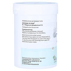 BIOCHEMIE Pflüger 7 Magnesium phosphoricum D 6 Plv 250 Gramm N2 - Rechte Seite