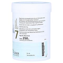 BIOCHEMIE Pflüger 7 Magnesium phosphoricum D 6 Plv 250 Gramm N2 - Linke Seite
