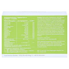 MYBIOTIK IMMUGY Kombipackung 30x2 g+60 Kapseln 1 Packung - Rückseite