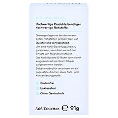COSPHERA Biotin 10 mg Tabletten 365 Stück - Rückseite