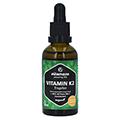 VITAMIN K2 MK7 Tropfen hochdosiert vegan 50 Milliliter