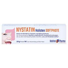 Nystatin Holsten Softpaste 20 Gramm N1 - Vorderseite